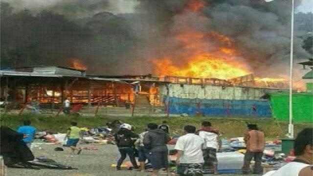 Pembakaran Masjid di Papua