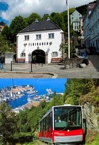 Vistar Bergen - Funicular Fløibanen
