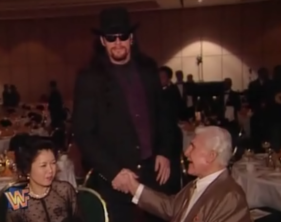 WWF / WWE - King of the Ring 1995 - The Undertaker at the 1995 Hall of Fame