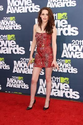 Kristen Stewart Ravishes in Safety Pin Dress