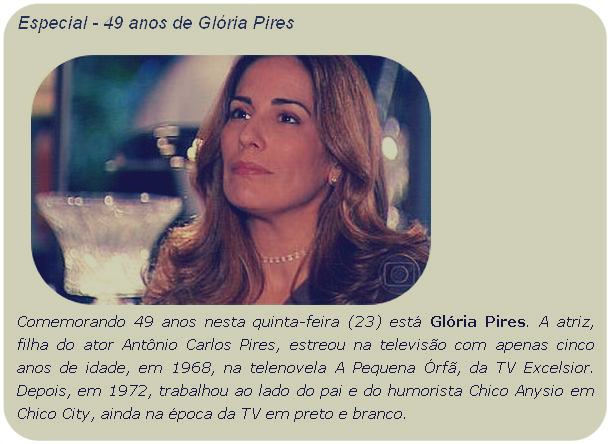 Memorial Gloria Pires Blog Do U0026 39 Programa Atualize U0026 39 Faz