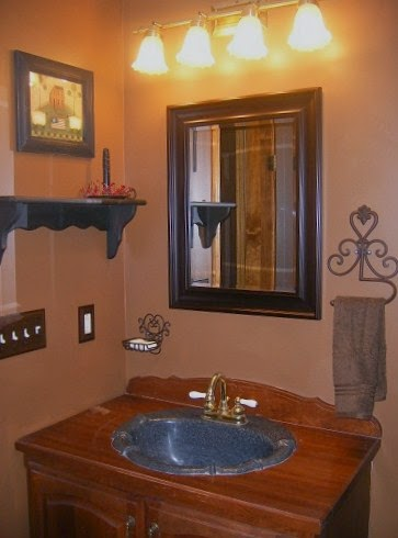 primitive bathroom ideas bathroom ideas 1000 ideas about primitive country bathrooms on pinterest