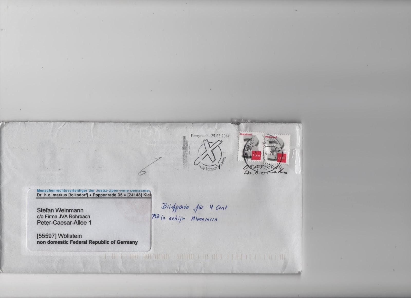 Briefe Verschicken Mit Hermes : Excalibur briefe für cent versenden
