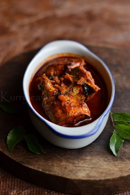 kallu shappu meen curry | toddy shop fish curry | spicy red fish curry