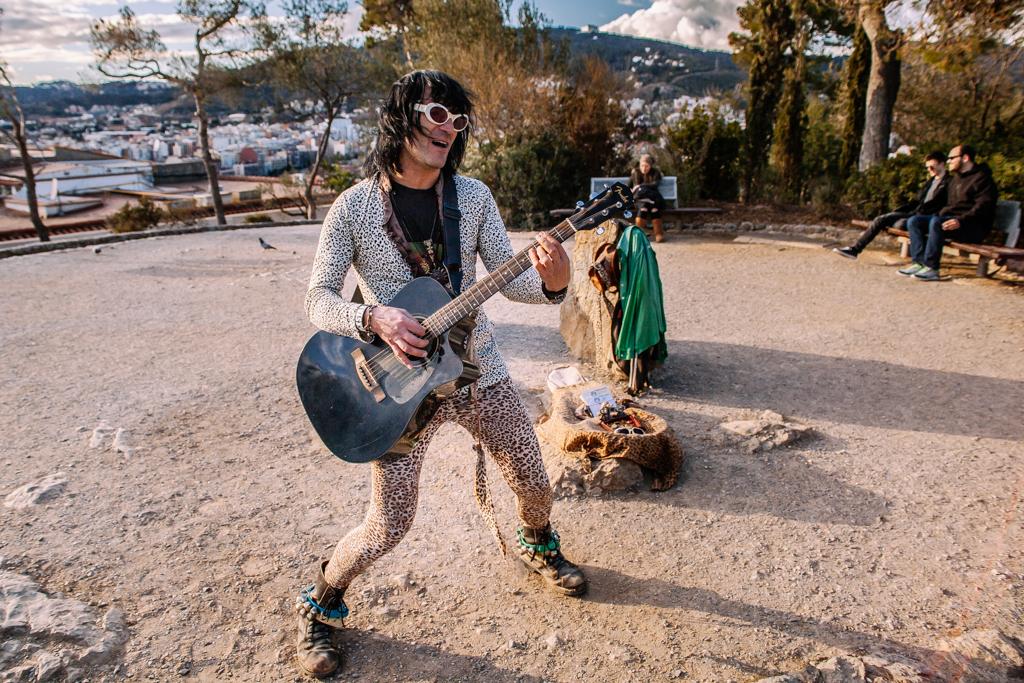 Crazy Musician - Copyright © Marcin Michalak Photography.