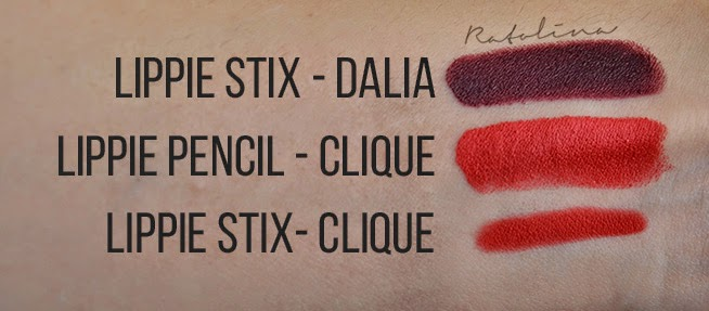 ColourPop lippie stix pencils swatches