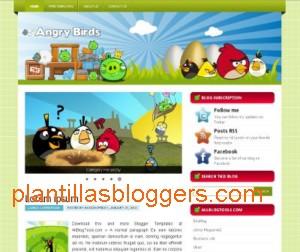 plantilla para blogger angry birds
