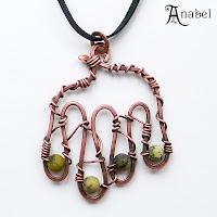 купить медные украшения ручной работы украина anabel