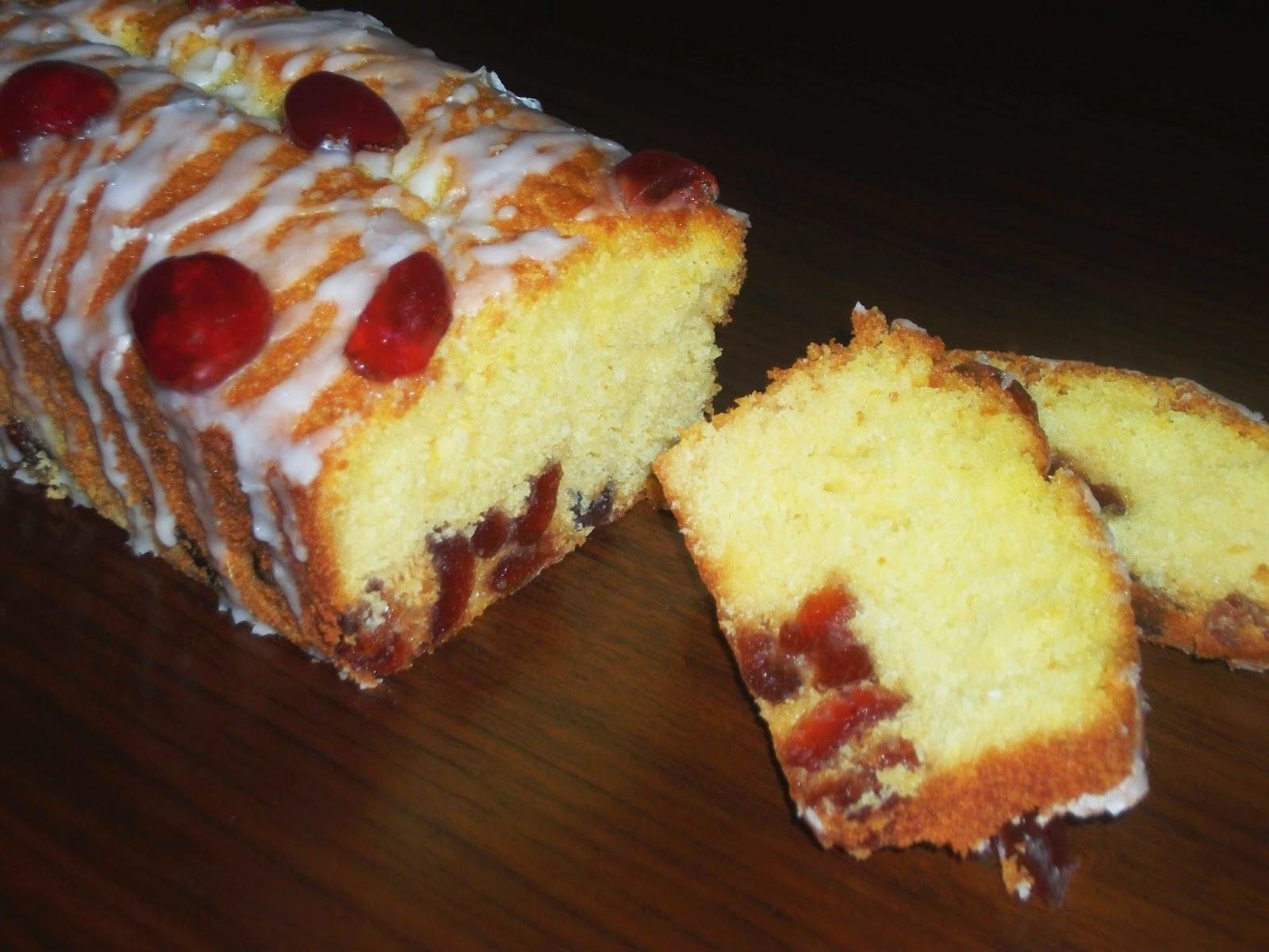 Gluten free Cherry Cake