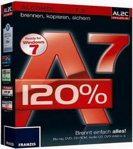 Alcohol 120 v 7.0 Full Version with serial key