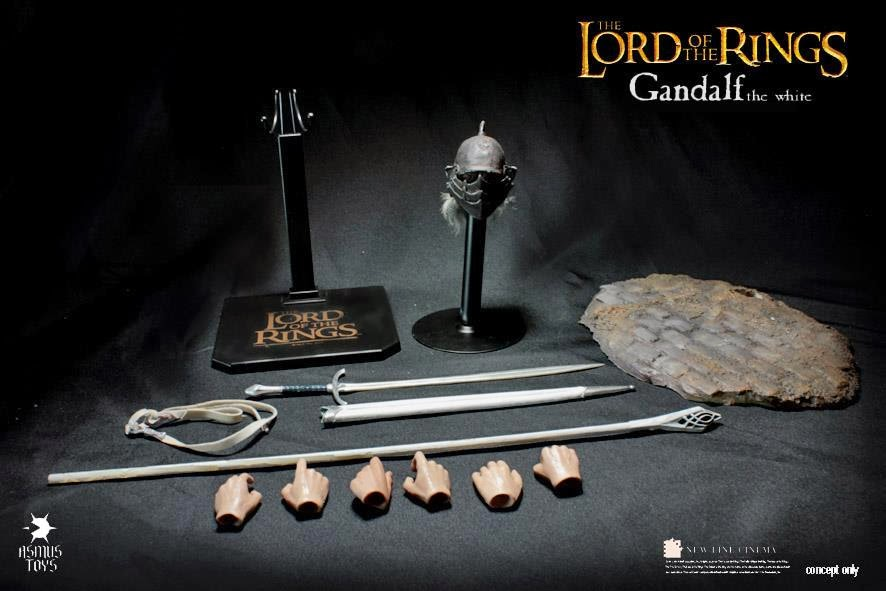 [Asmus Toys] The Lord of the Rings 1/6 scale - Gandalf F6
