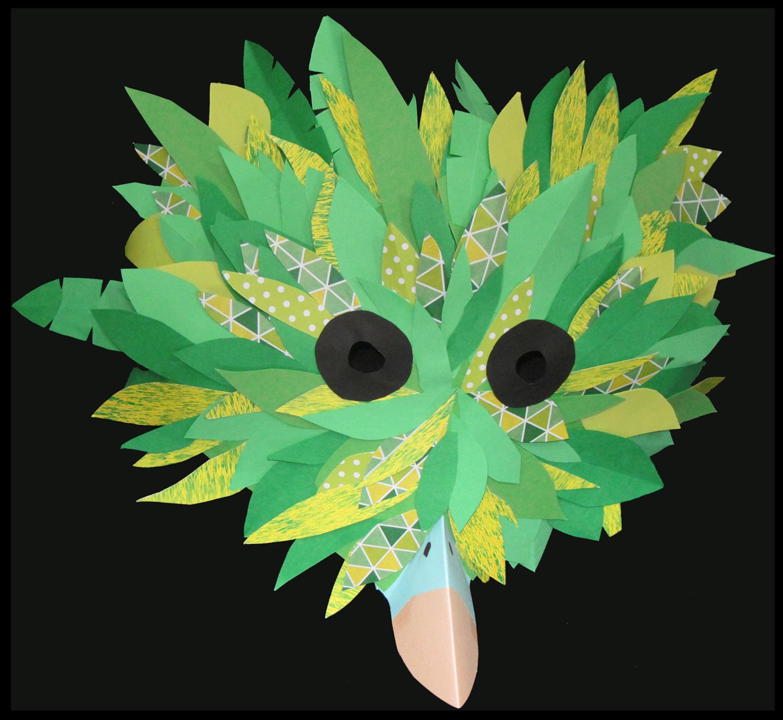 De vildeste fuglemasker