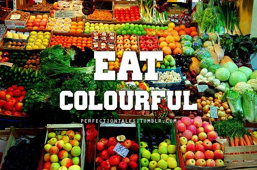 Baño Sencillo Para La Buena Suerte:Rainbow Healthy Foods to Eat