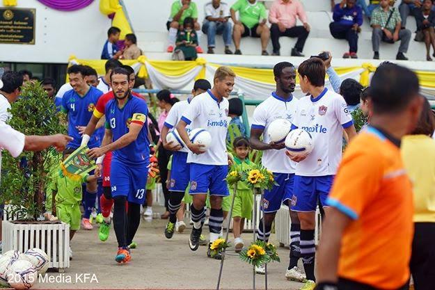 Galeri Foto Perlawanan Pra Musim 2015 Songkhla United FC vs Kedah FA