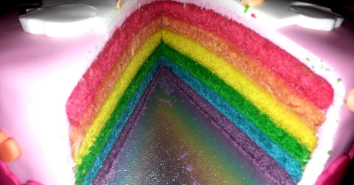 Recette Rainbow Cake Norbert