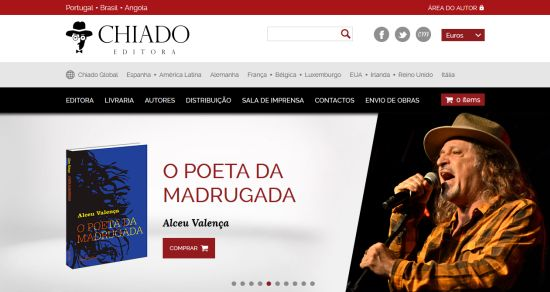 Chiado Editora - Site