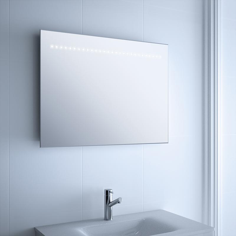 Genial espejo ba o con luz integrada fotos tienda de for Espejos para banos con luz incorporada