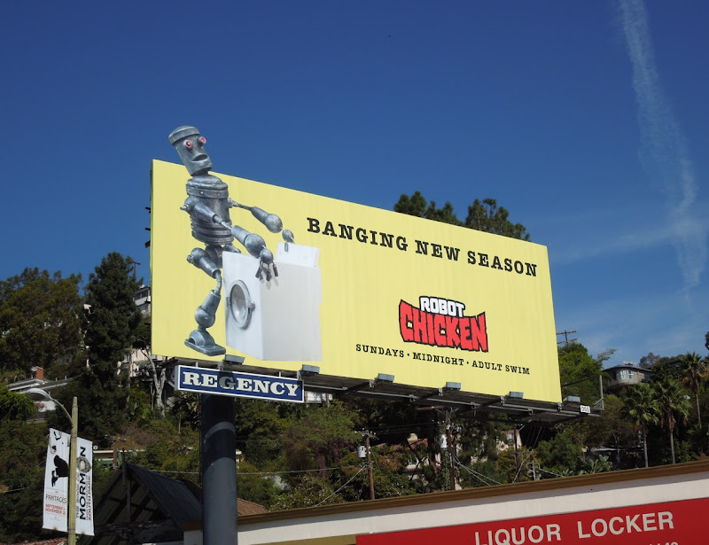 Robot Chicken banging season 6 billboard