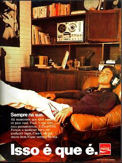 propaganda Coca Cola - 1974 - Isso é que é