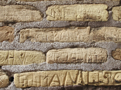 Ancient graffiti found inside the Colosseum