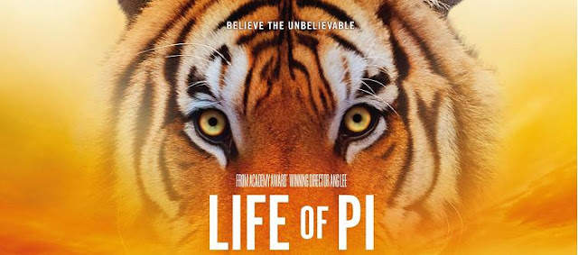 Life of Pi tiger poster