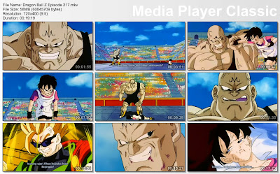 Download Film / Anime Dragon Ball Z Majin Buu Saga Episode 217 Bahasa