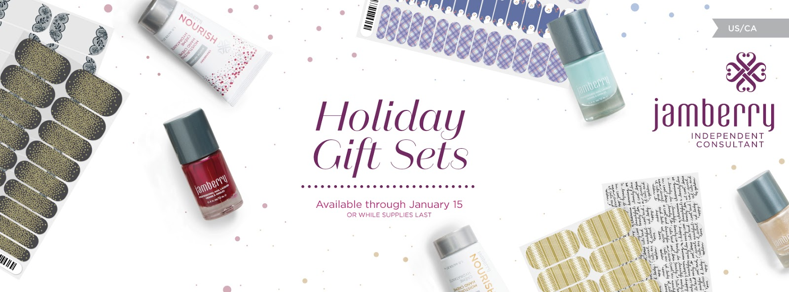 Jamberry Holiday Gift Sets: Winter Wishes, All is Bright, and Snow ...