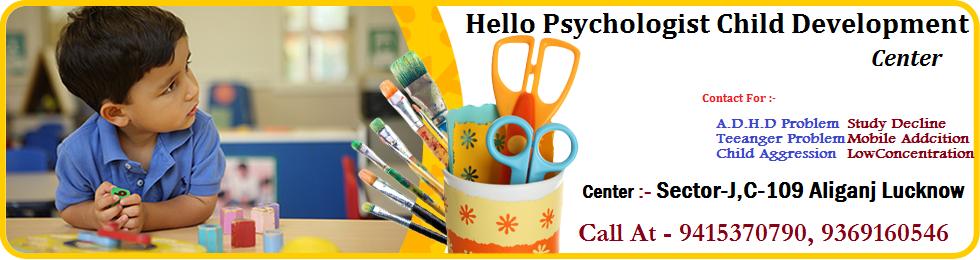 Hello Psychologist Child Development Center lucknow