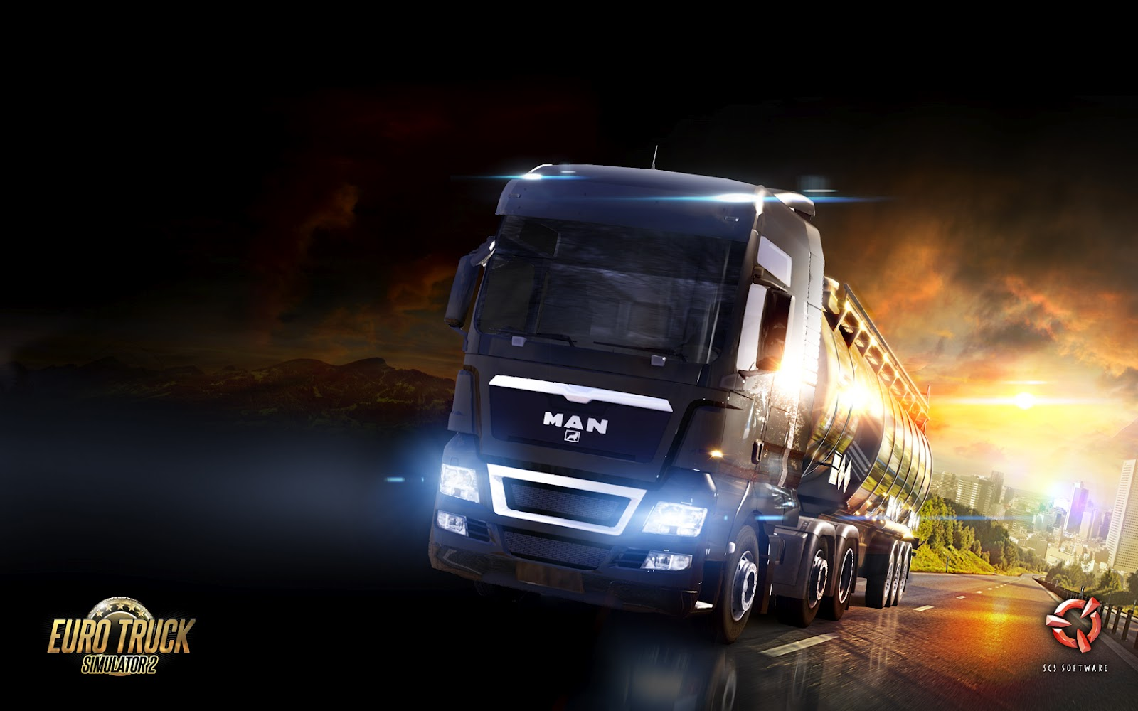 Man in Euro Truck Simulator 2