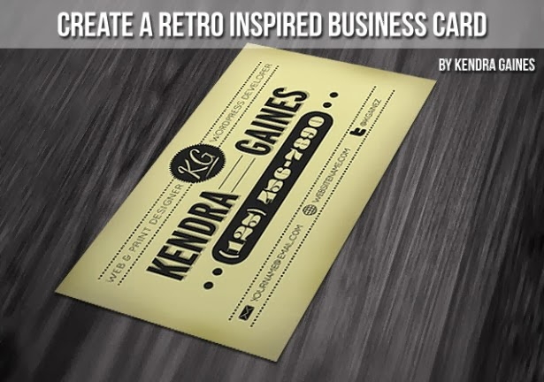 25 Tutorials for Business Card Design