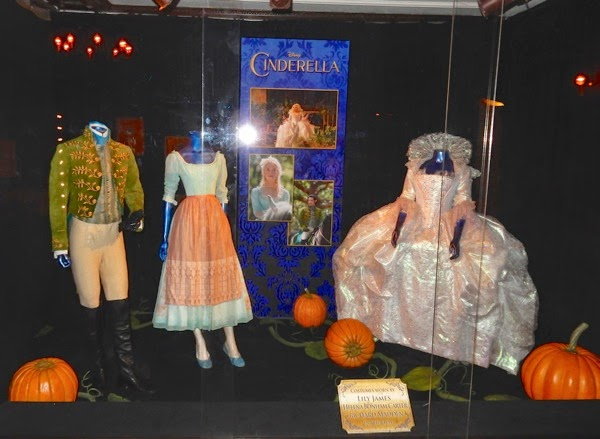 Original Cinderella film costumes