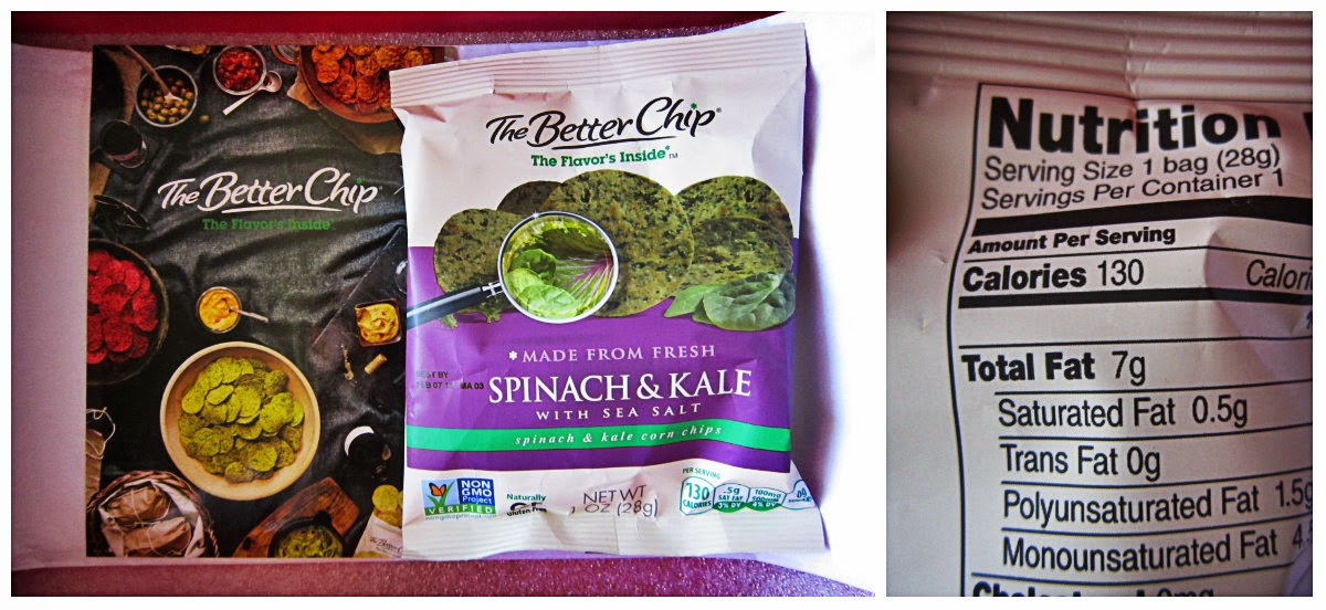 The Better Chip Spinach and Kale with Sea Salt
