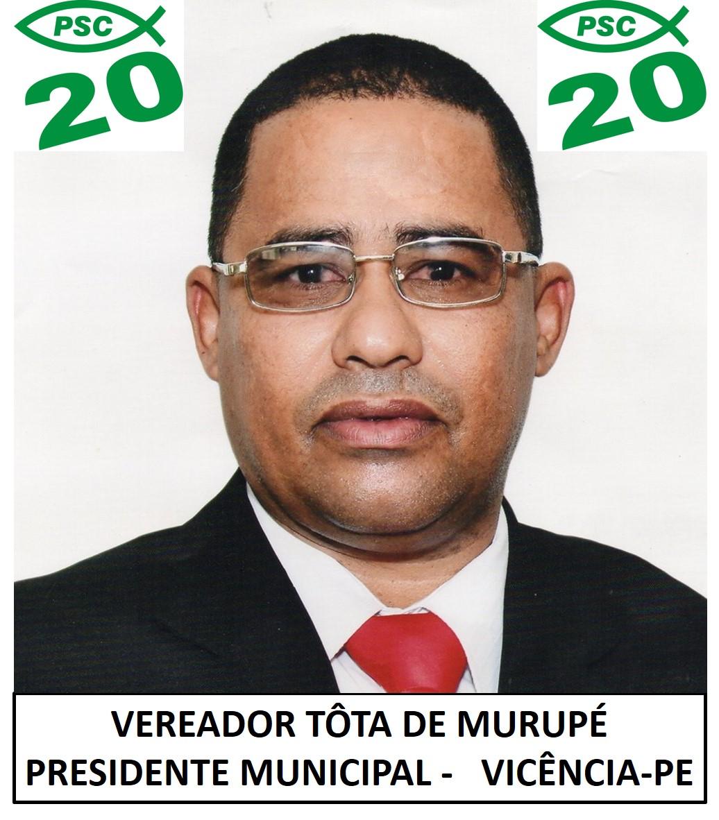 VEREADOR TÔTA DE MURUPÉ