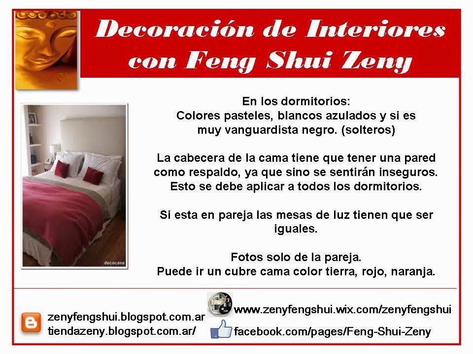 Zen y feng shui tao feng shui dormitorios for Feng shui amor y matrimonio
