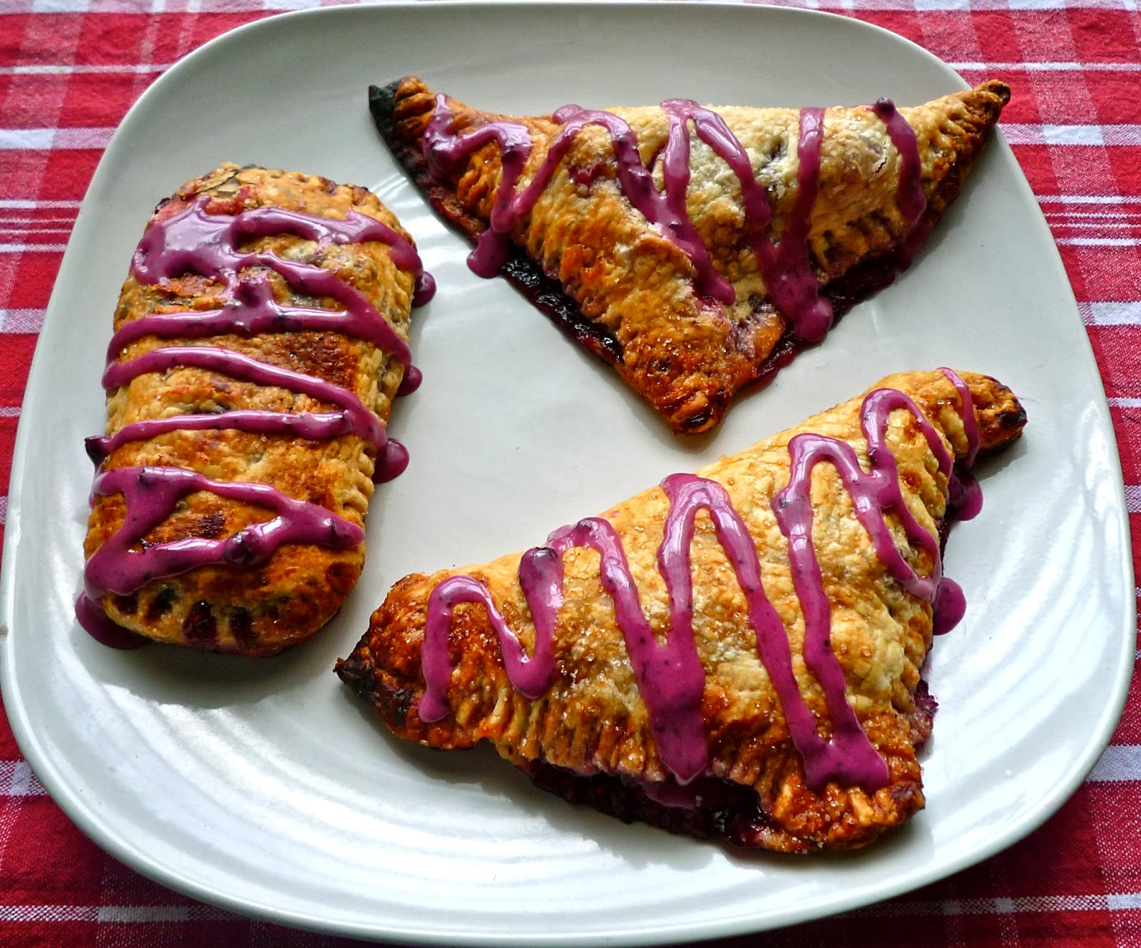 The Weekend Gourmet: Berry-Port Puff Pastry Turnovers with Blueberry ...