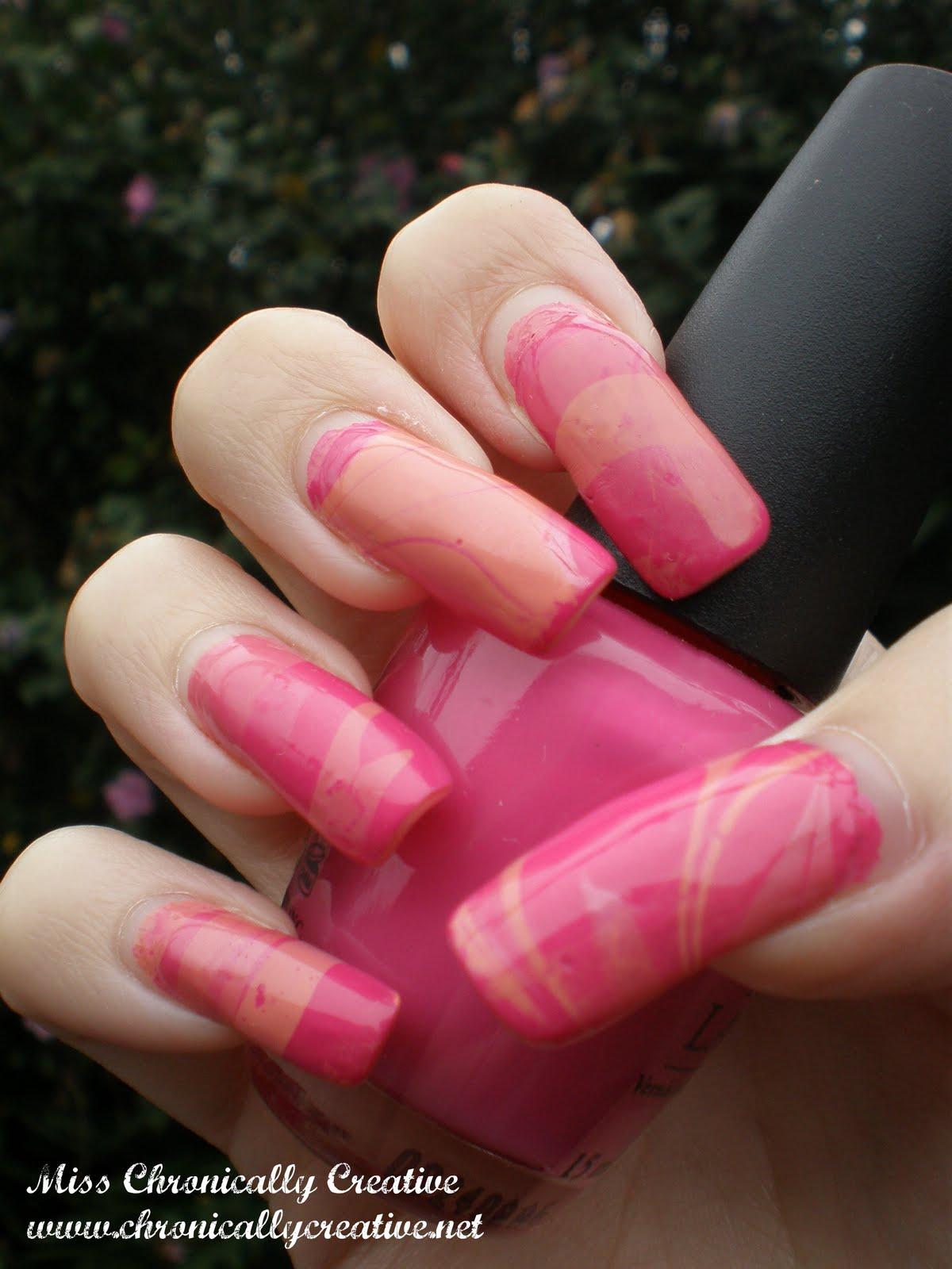 marble nail art-119