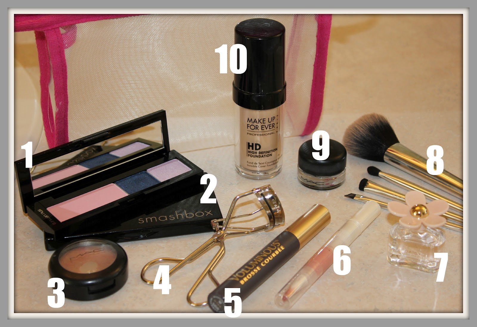 blushing basics: How to Pack a Makeup Travel Kit