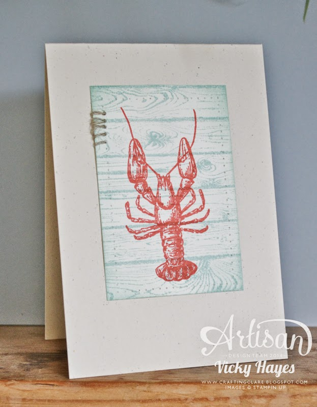 Get paper crafting and card making ideas from Vicky Hayes at her Stampin' Up blog