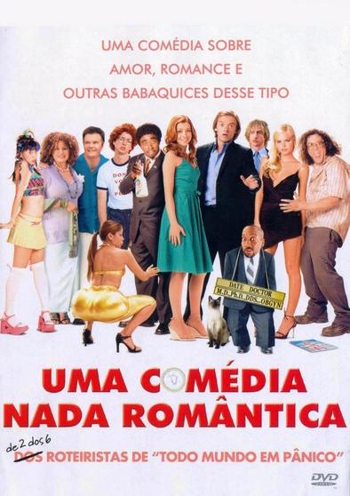 Filme Uma Comédia Nada Romântica Dublado AVI DVDRip