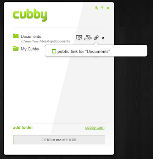 cubby sharing