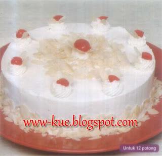 membuat cake almond