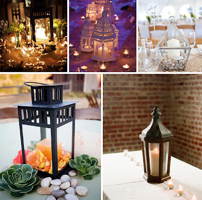 Lantern Centerpiece Ideas