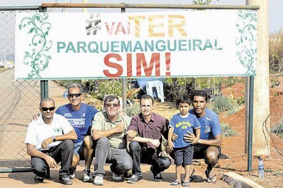 Moradores do Jardins Mangueiral cobram promessa de área ecológica