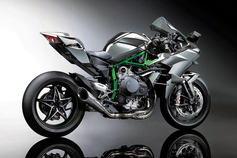 Kawasaki Ninja H2R (2015) Rear Side
