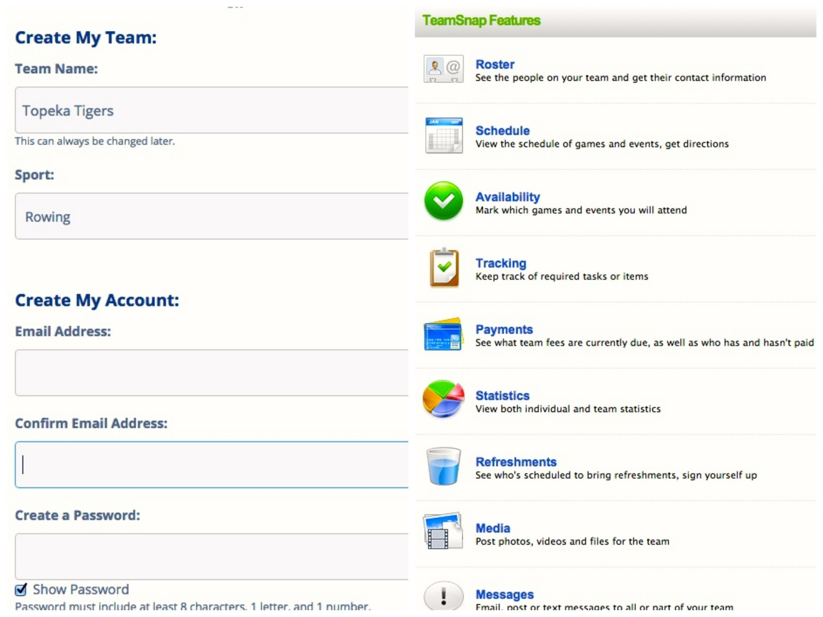 Organizing Your Team Is A Snap with TeamSnap