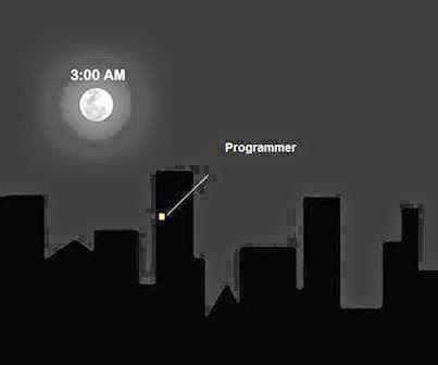 المبرمجون ليلا - programmer night