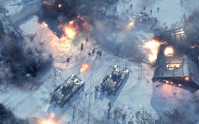 company of heroes 2 battle
