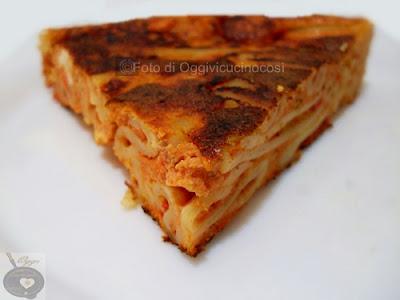pizza di maccheroni