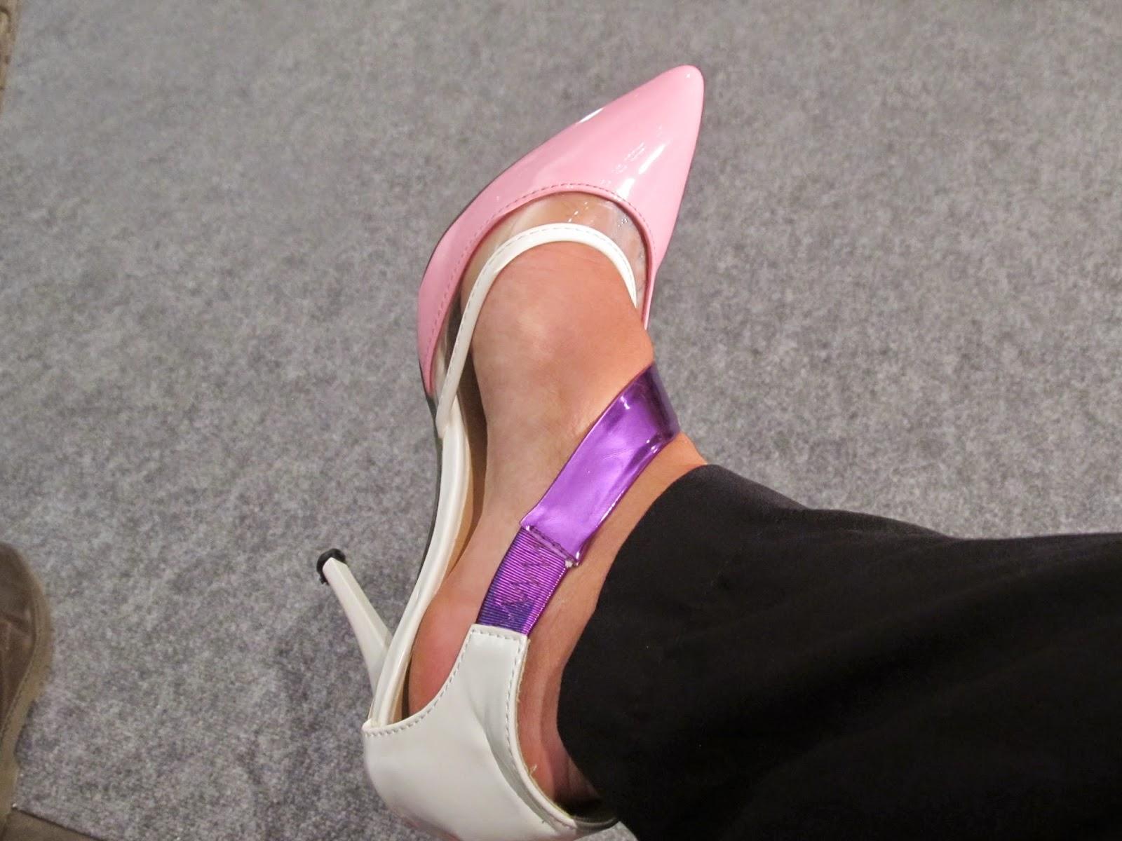 comprar zapatos comodos choies rosa lila blanco