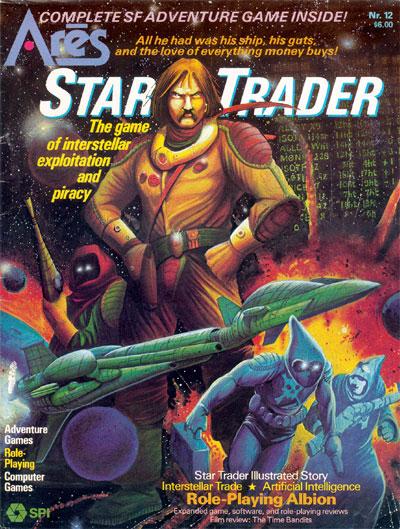 Ares Magazine #12 SPI Star Trader SPI